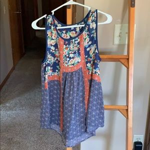 NWOT Beautiful Boho Tank